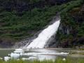 Nugget Falls near Mendenhall Glacier