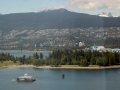 View of Stanley Park and Lions Gate Bridge
