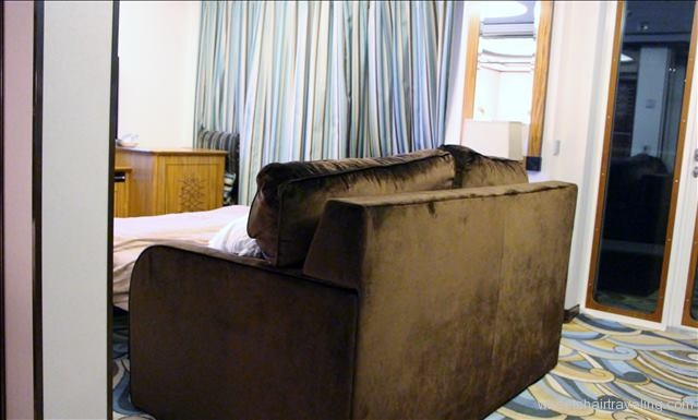 Couch in Stateroom