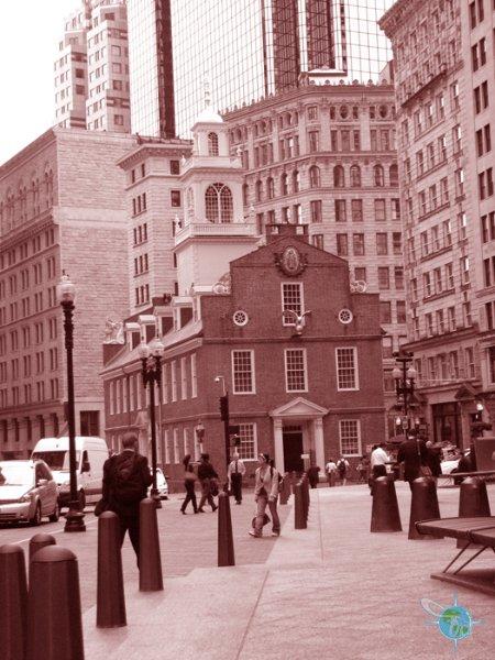 The location of the Boston Massacre