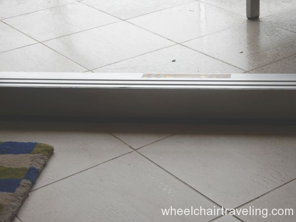 Room Patio Door Lip