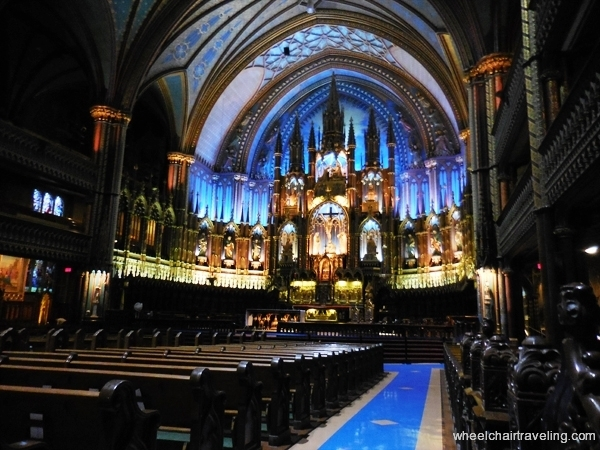 The Notre-Dame Basilica of Montreal