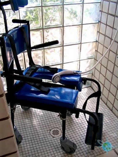 Go Mobility Solutions Portable Commode Shower Chair