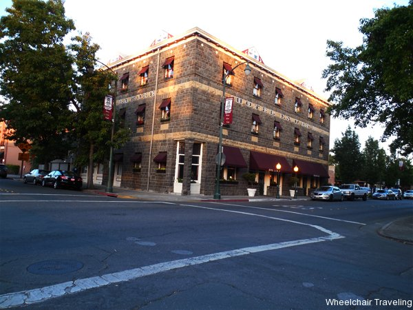 historic hotel la rose in downtown santa rosa ca. Black Bedroom Furniture Sets. Home Design Ideas