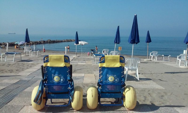 Liguria - Accessible beach