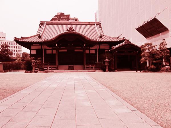 Temple in Harajuku