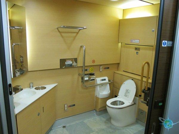 Ne\'X Train Bathroom