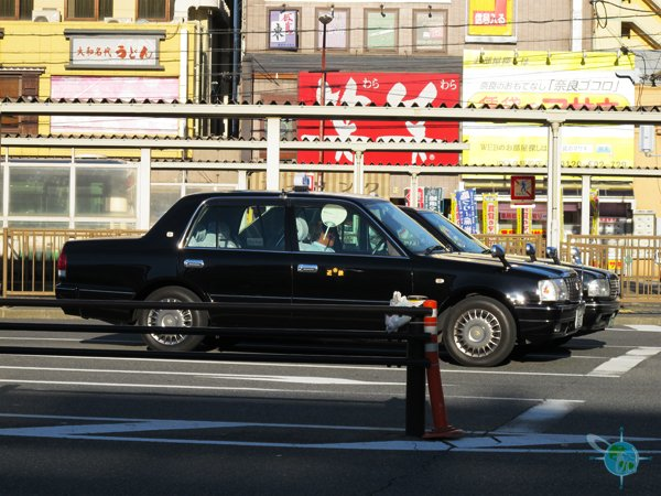 Taxi in Tokyo