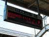Accessible Car Sign on Train Platform