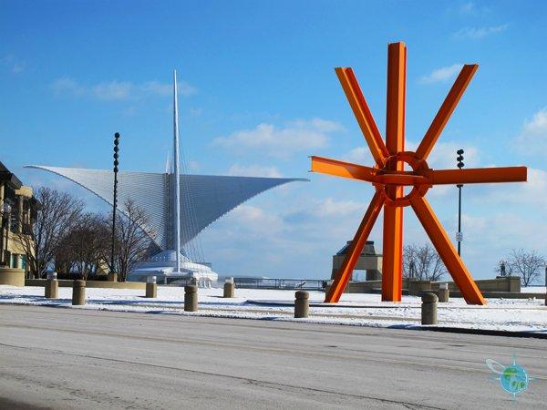 Milwaukee Art Museum (Winter)