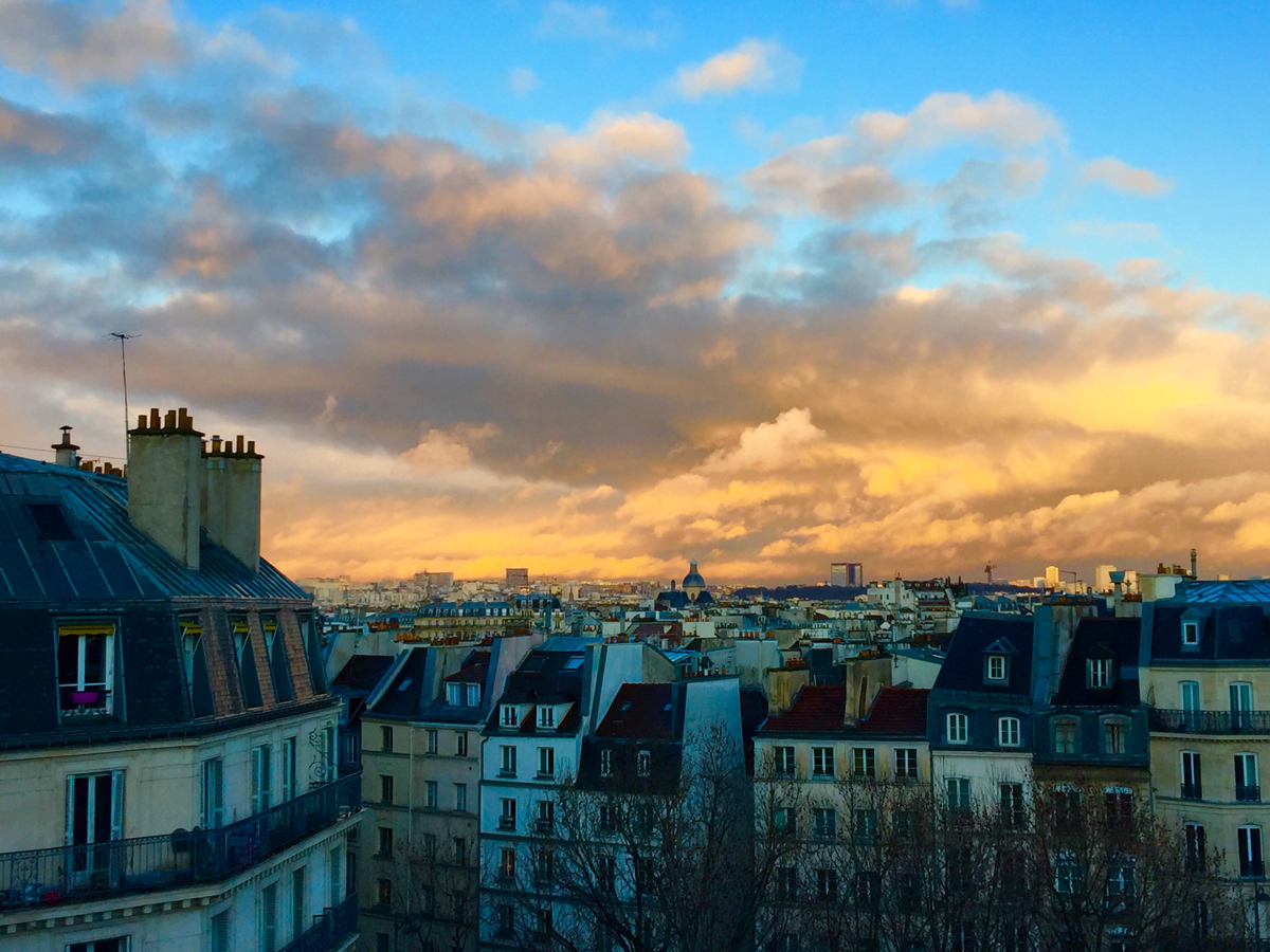 Parisian Sunsets