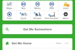 citymapper screen shot photo by kerry williams