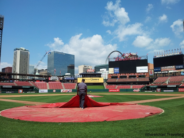 small_On the field at Busch Stadium