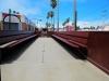 open-air accessible train car