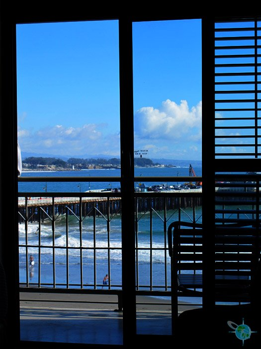 Dream Inn with Ocean View in Santa Cruz, CA - wheelchairtraveling.com