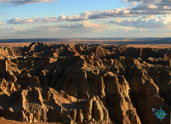 Badlands National Park In South Dakoda