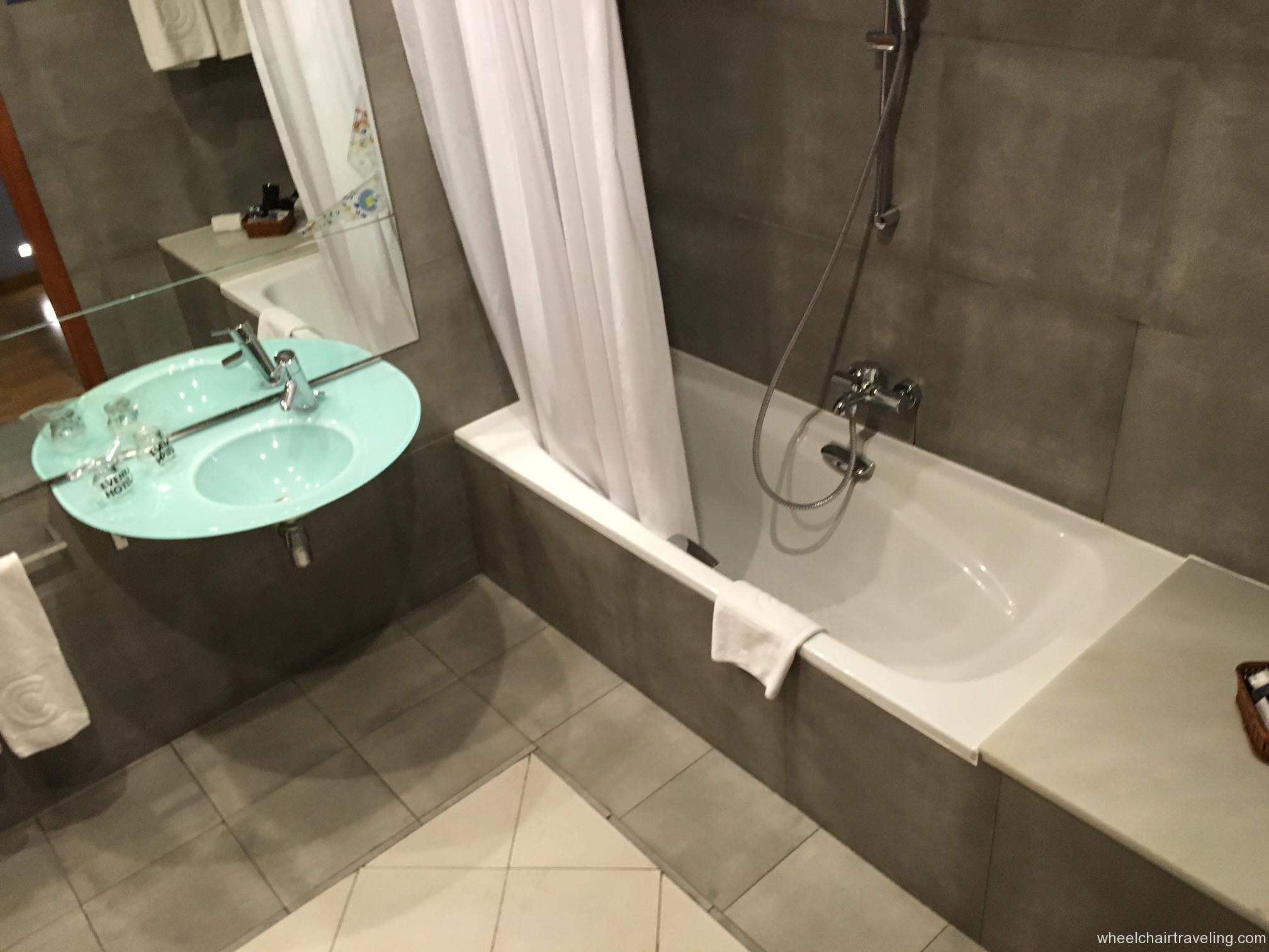 Barcelona hotel bathroom sink