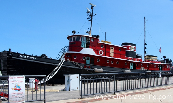 small_John Purves Tugboat - Sturgeon Bay Maritime Museum