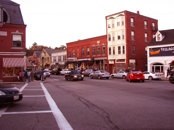 Touring the Small Town of Camden, Maine