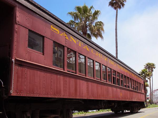 Santa Cruz Mt. Train Ride and Accessible Trail