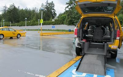 Wheelchair Taxi Cabs in Victoria, British Columbia