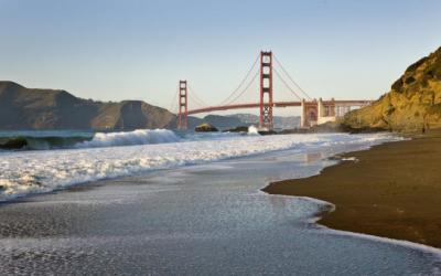 Baker Beach Access in San Francisco