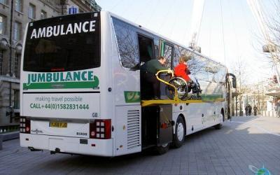 Rent a Wheelchair Accessible Bus for Europe Travel