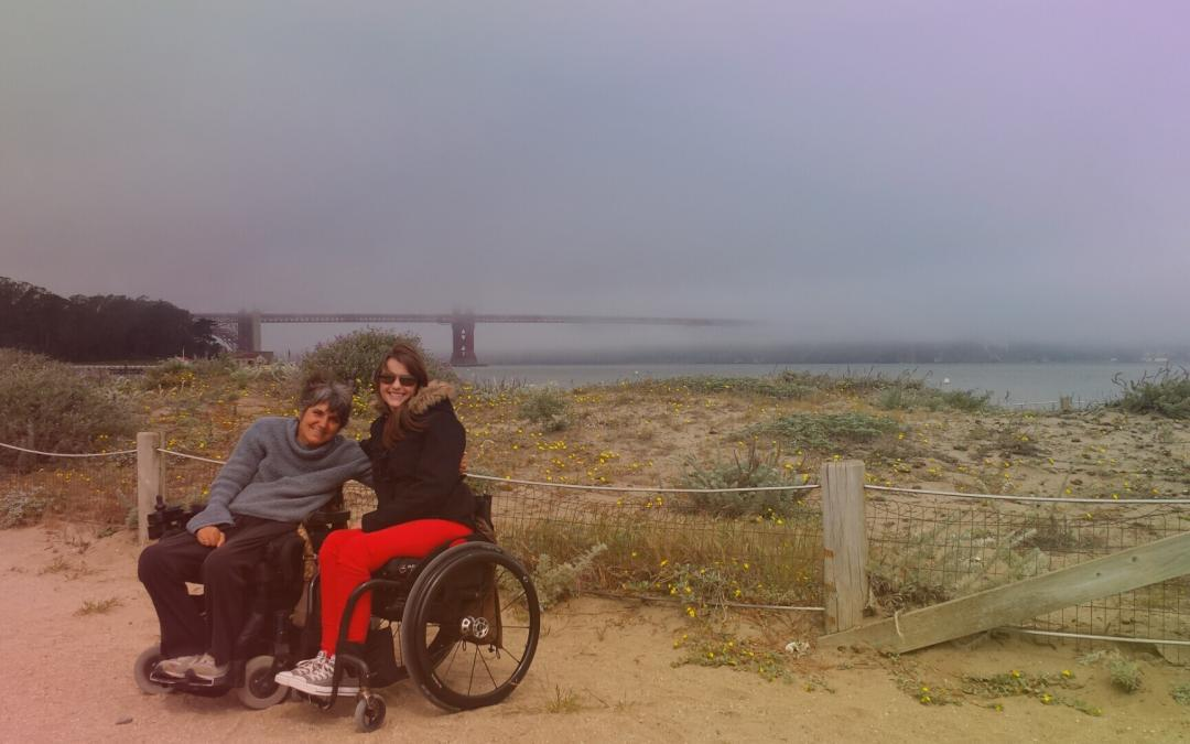 Crissy Field and Fort Point in San Francisco
