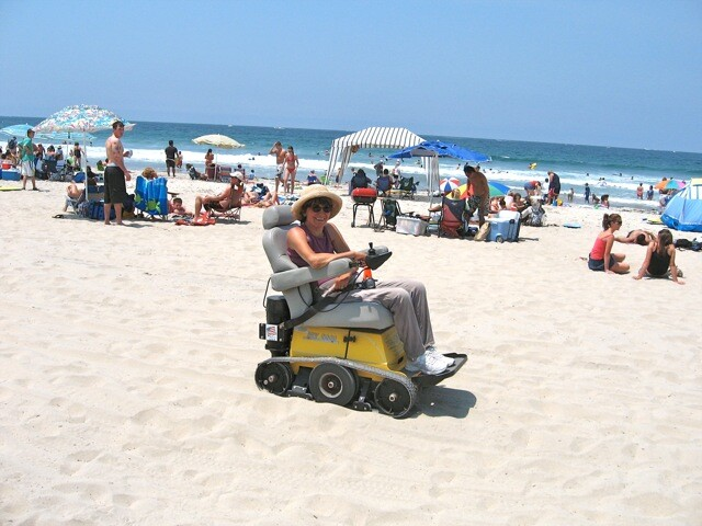 Beach Wheelchairs in San Diego, California