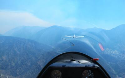 Fly a Glider Plane with Hand-Controls