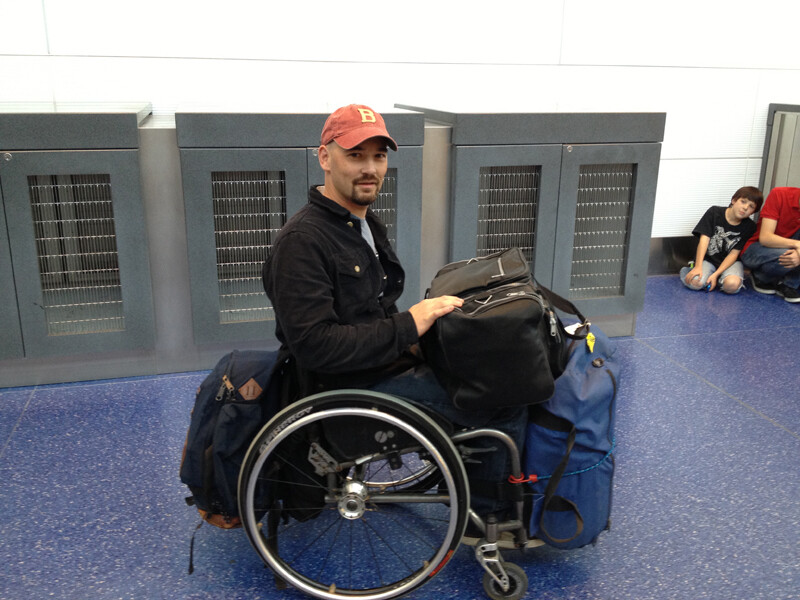 luggage tips for wheelchair travel packing to carrying