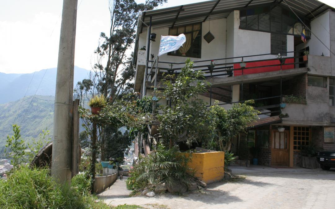 Accessible Rooms in a Baños, Ecuador Hostel