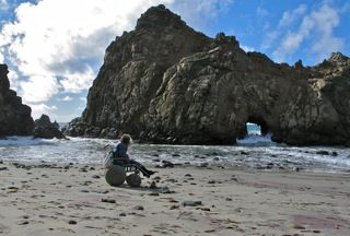 CA Coast: Pfeiffer Beach at Big Sur Access