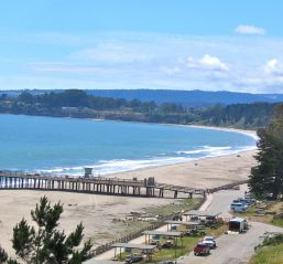 CA, Monterey: Seacliff State Beach Access