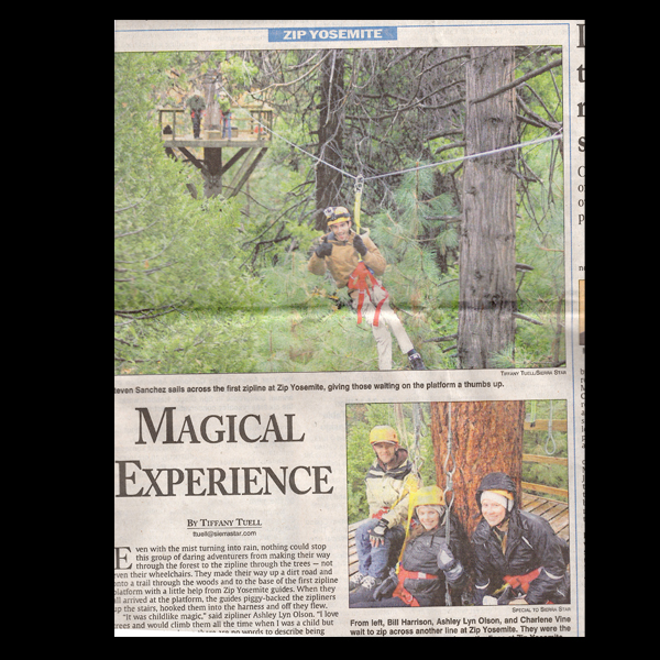 Sierra Star Newspaper: Magical Experience