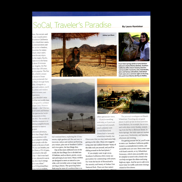 Life in Action Magazine: Travel SoCal
