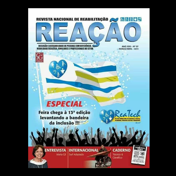 Revista Reação: Interview with a Wheelchair Surfer