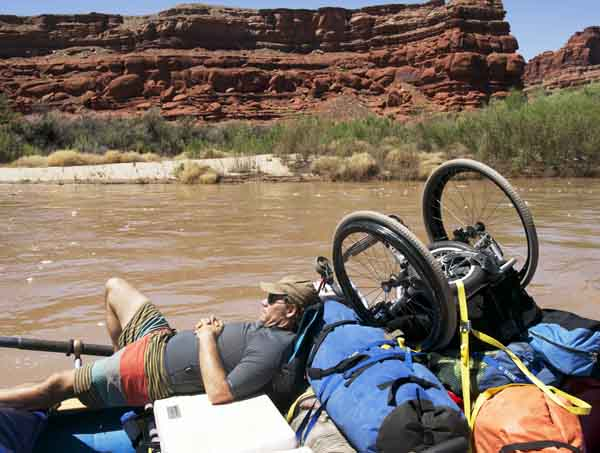 Rafting the Colorado River with a Wheelchair
