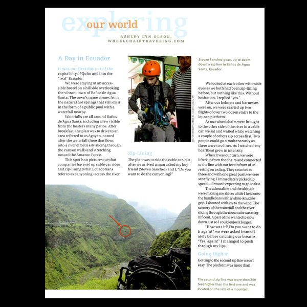 PN Magazine:  Exploring Our World, A Day in Ecuador
