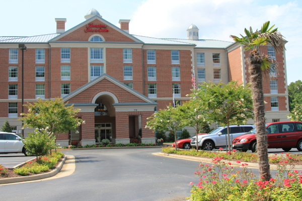 Hampton Inn in Williamsburg, Virginia