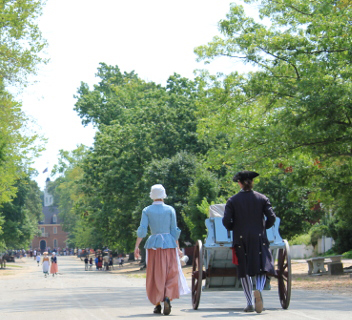Access at Colonial Williamsburg, Virginia