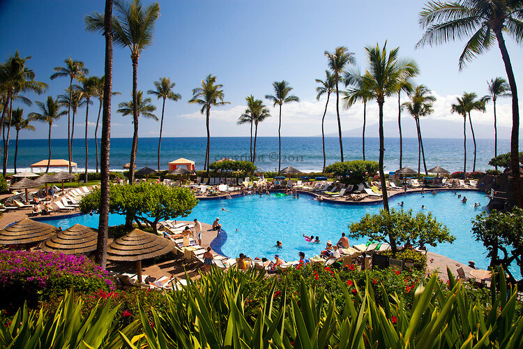 Hyatt Regency Resort and Spa in Maui. Hawaii