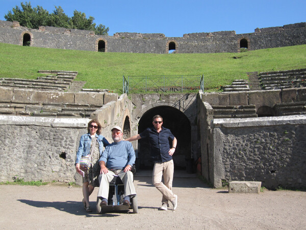 Pompeii, Naples Italy Archaeological Site Access