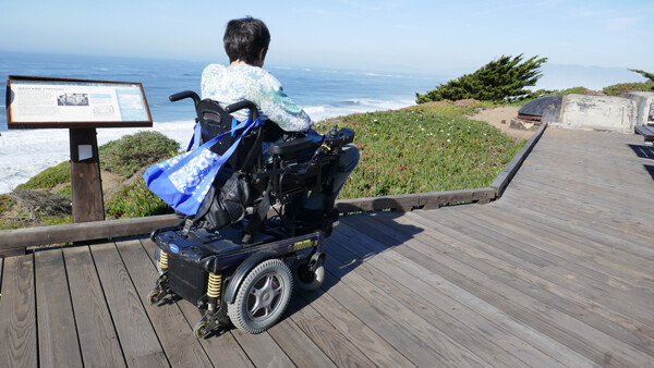 Fort Funston Overlook and Trail Accessibility