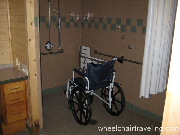 HC Cabin shower (WI DNR)