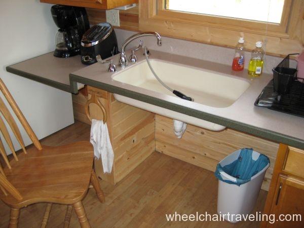 HC Cabin sink (WI DNR)