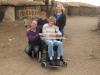 family at masai village