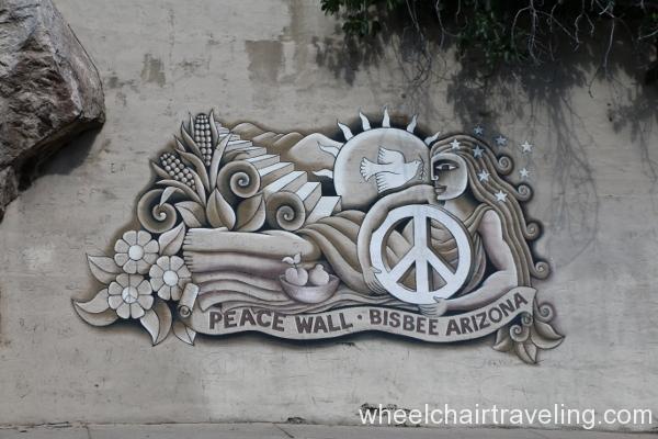 13 Peace wall