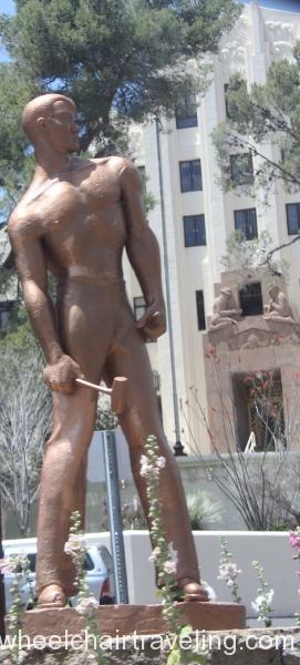14 Miner Sculpture