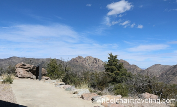 View of Cochise Head from Nature Trail.JPG